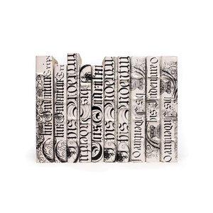 Thumbnail of Go Home - Linear Foot of White Bold Spenserian Books