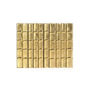 Thumbnail of Go Home - Linear Foot of Metallic Gold Books