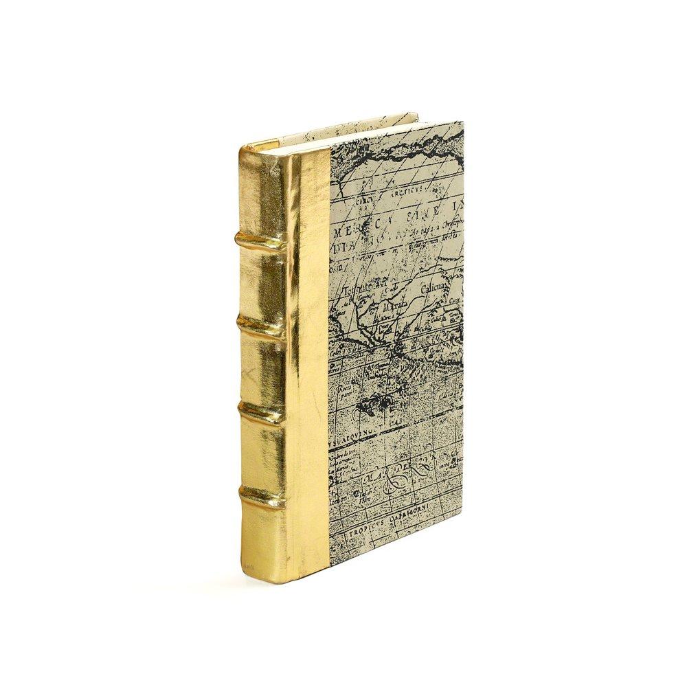 Go Home - Single Metallic Gold Book