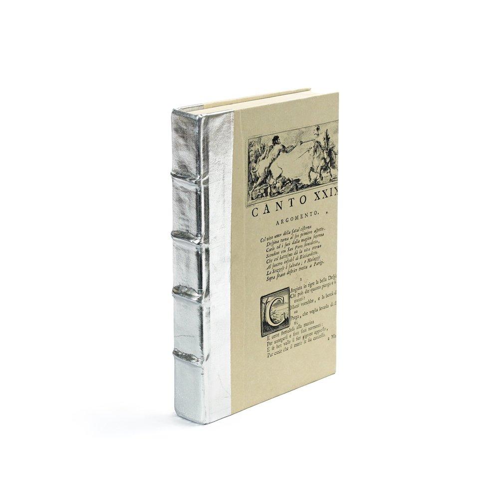 Go Home - Single Metallic Silver Book