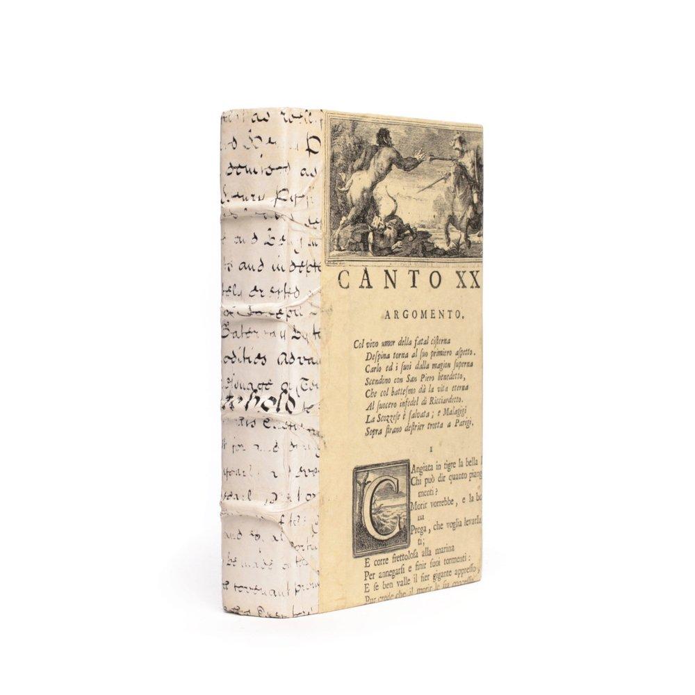 Go Home - Single Antique Vellum Script Book