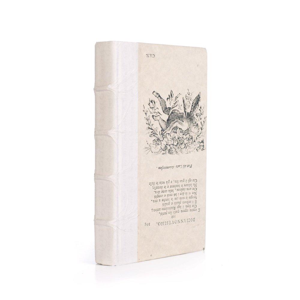Go Home - Single Antique Vellum Book