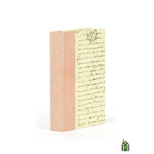 Thumbnail of Go Home - Single Chevron Textured Red White Book