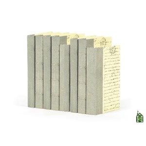 Thumbnail of Go Home - Linear Foot of Chevron Texture Black White Books