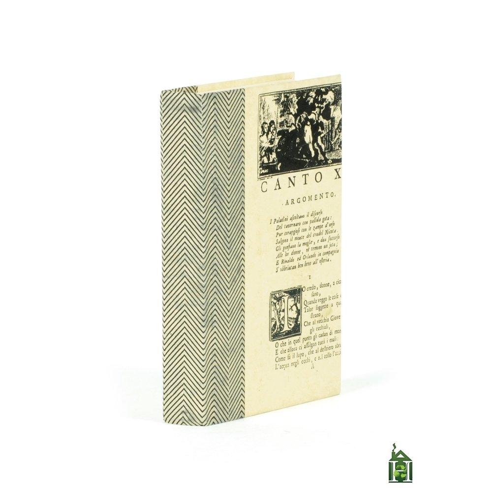 Go Home - Single Chevron Texture Black White Book