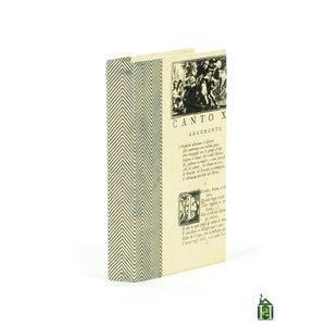 Thumbnail of Go Home - Single Chevron Texture Black White Book
