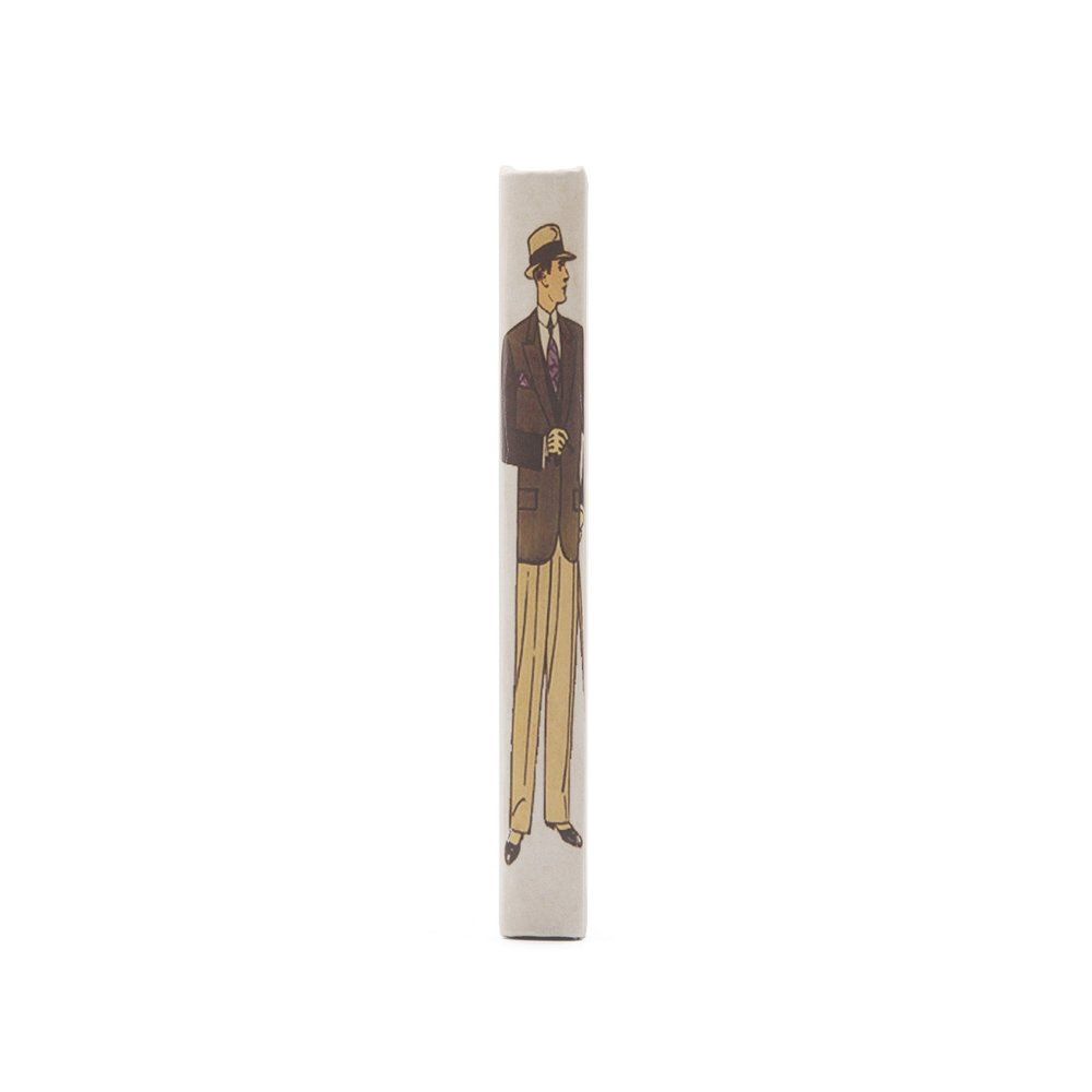 Go Home - Single Art Deco Man Book