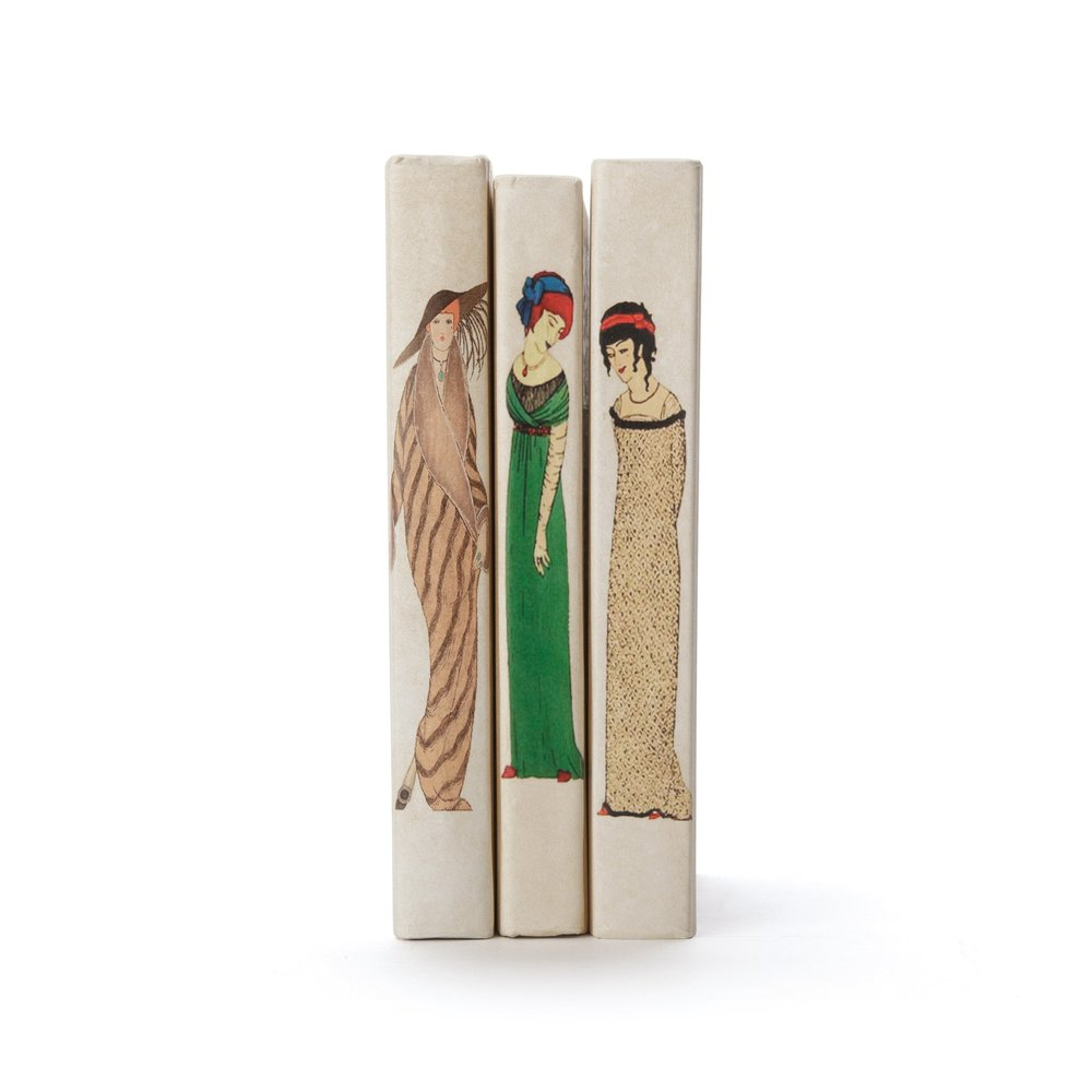 Go Home - Linear Foot of Art Deco Woman Books