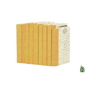 Thumbnail of Go Home - Linear Foot of Croc Faux Natural Books