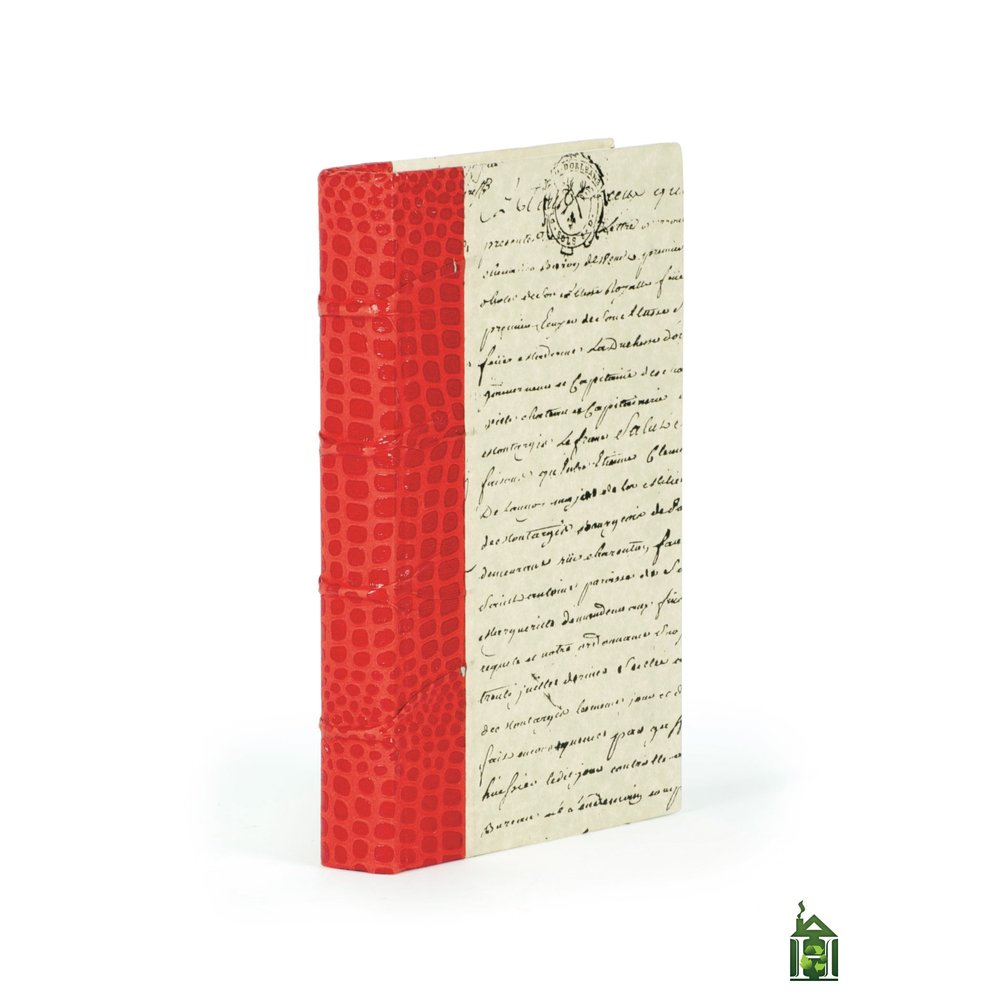 Go Home - Single Croc Faux Red Book