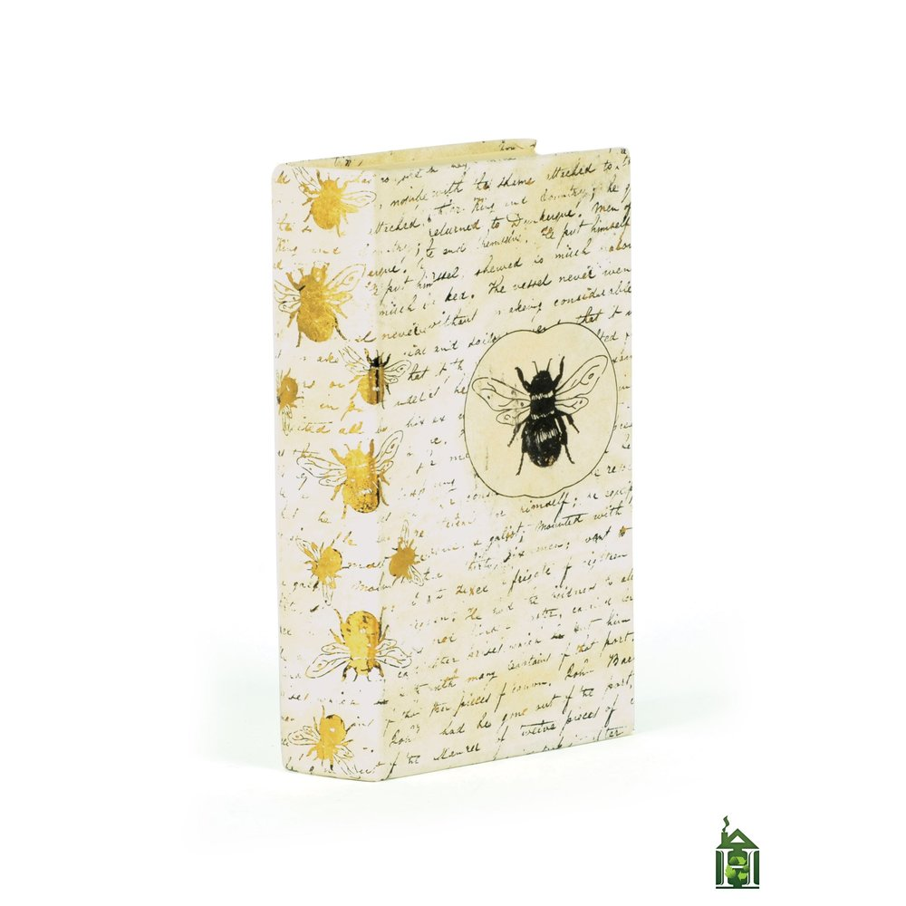 Go Home - Single Bumble Bee Gold Leaf Book