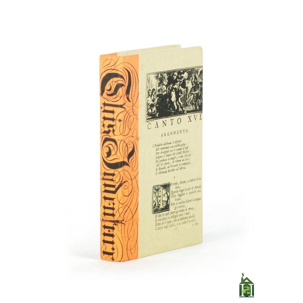 Go Home - Single Mod Orange Bold Script Book