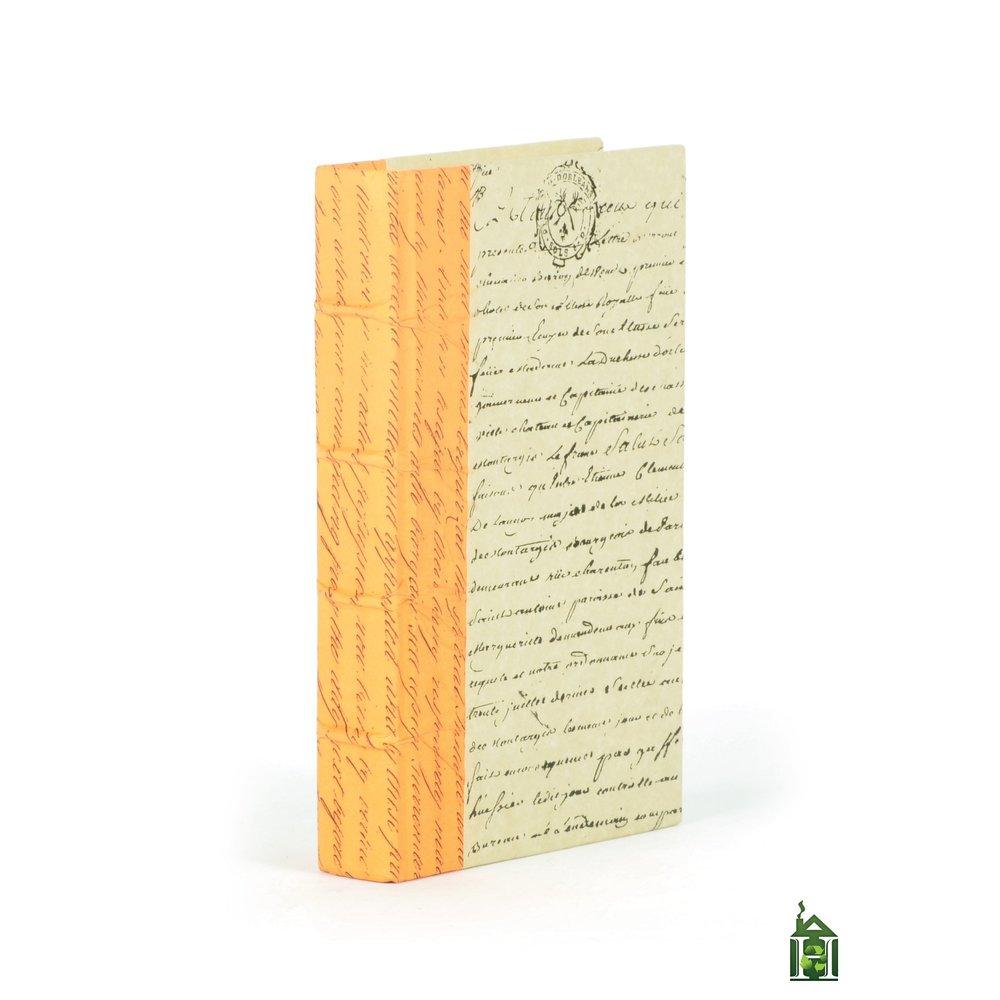 Go Home - Single Mod Mod Orange Script Book