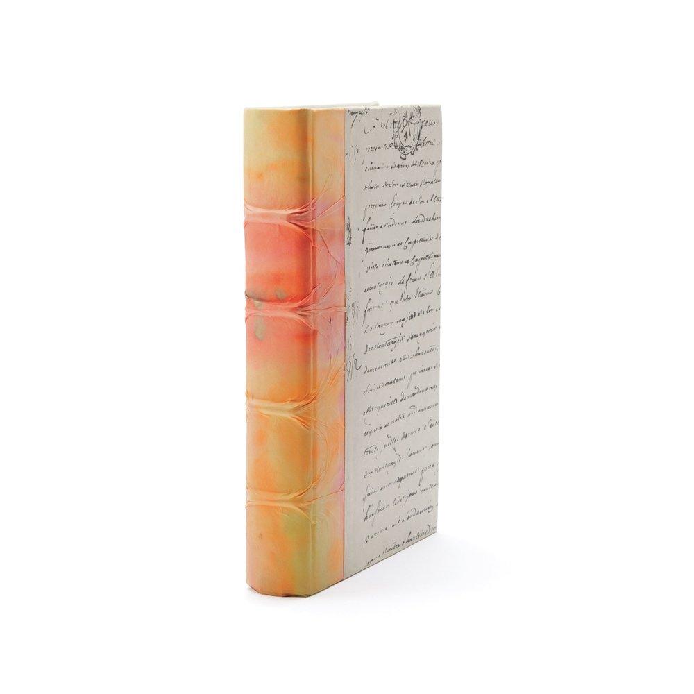 Go Home - Single Orange Acid Wash Book