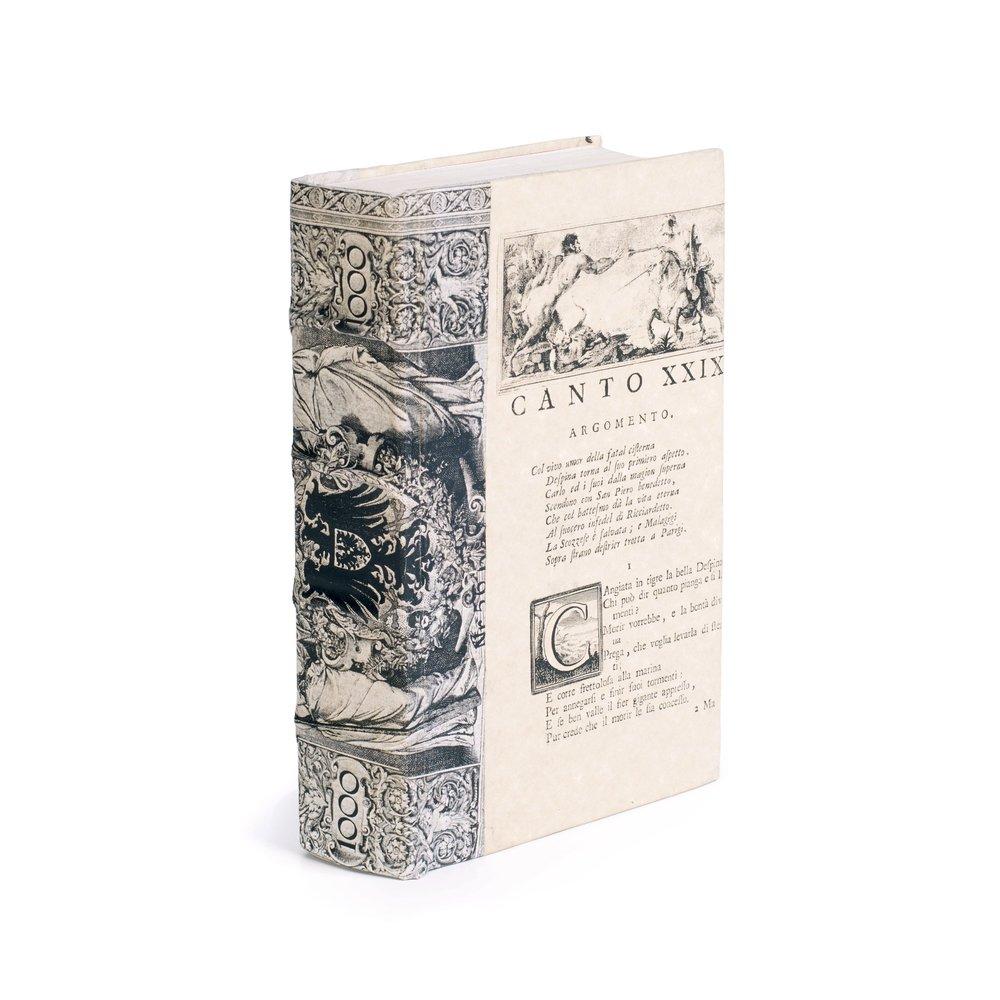 Go Home - Single Ivory European Beaux Arts Book