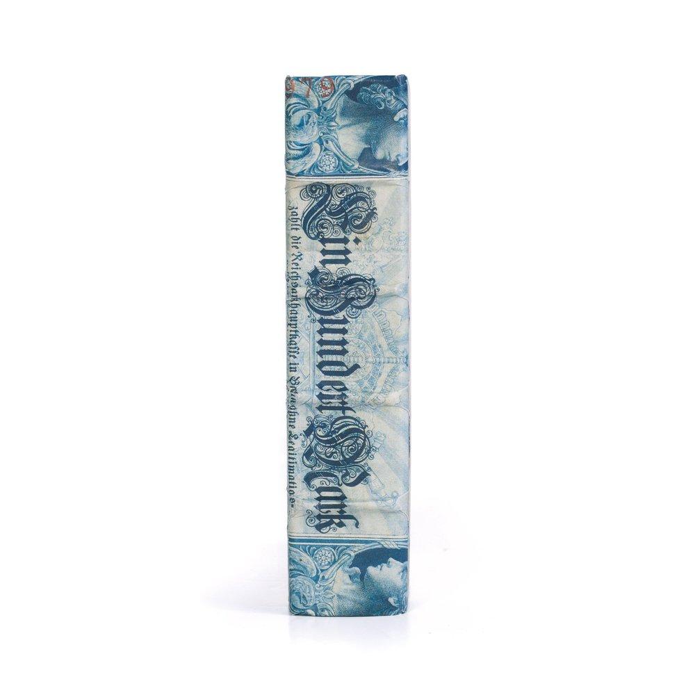 Go Home - Single Blue European Beaux Arts Book
