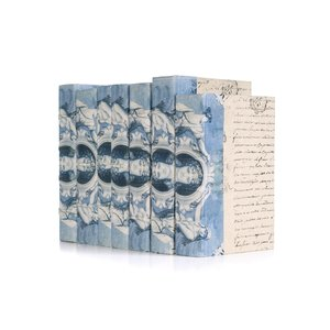 Thumbnail of Go Home - Linear Foot of Blue Euro Beaux Arts Goddess Books