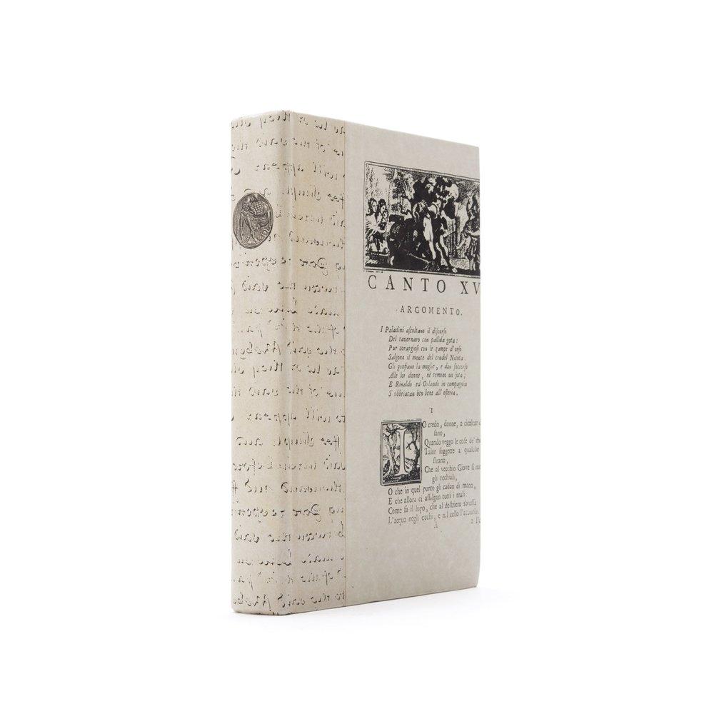 Go Home - Single Greek Hero Ivory Book