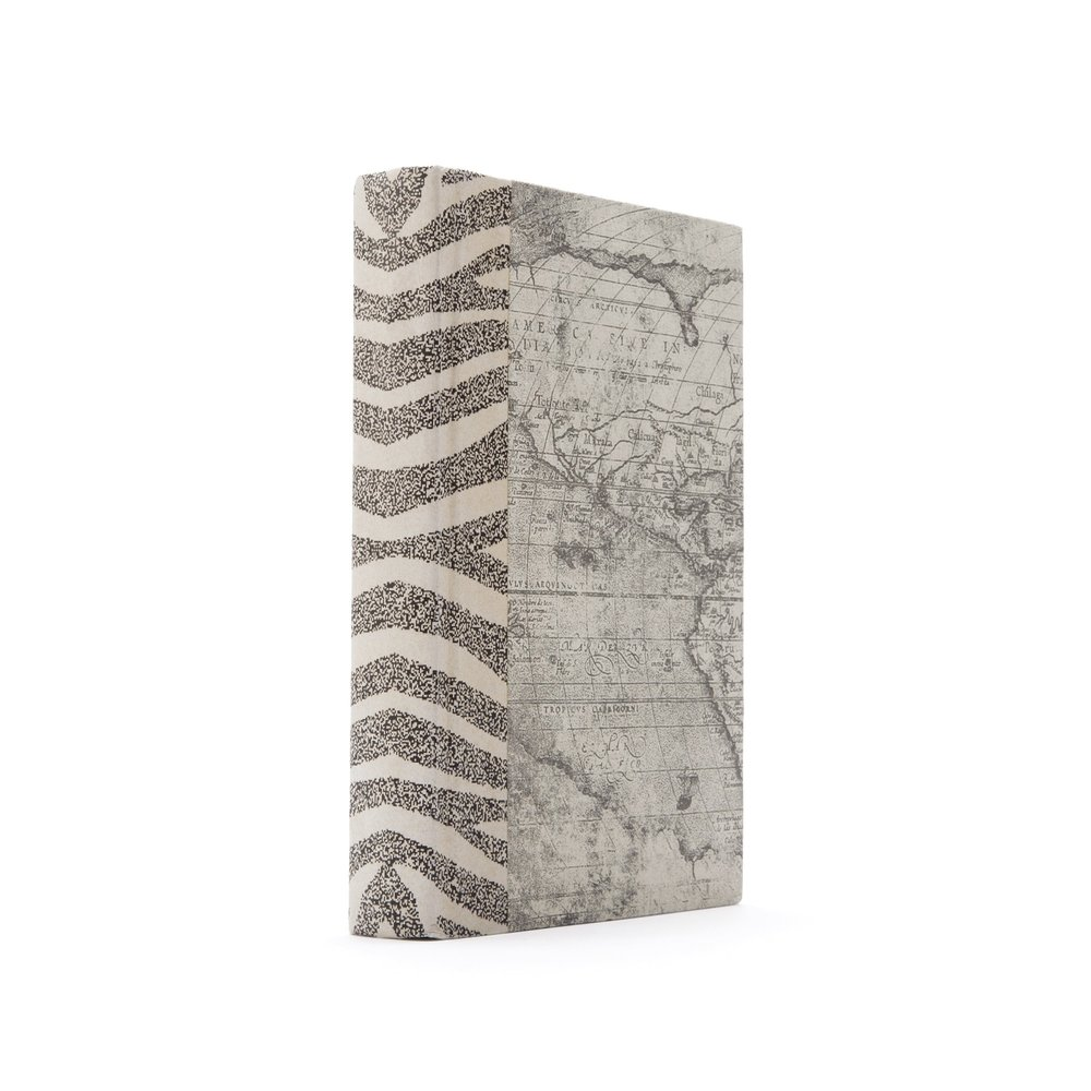 Go Home - Single Ivory Zebra Book