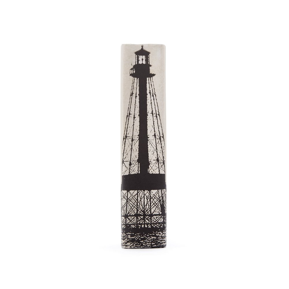Go Home - Single Ivory Alligator Lighthouse Book