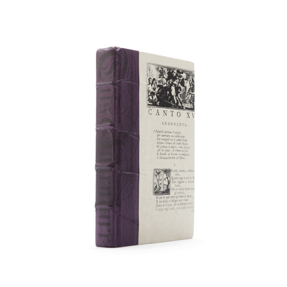 Go Home - Linear Foot of Aubergine Bold Books