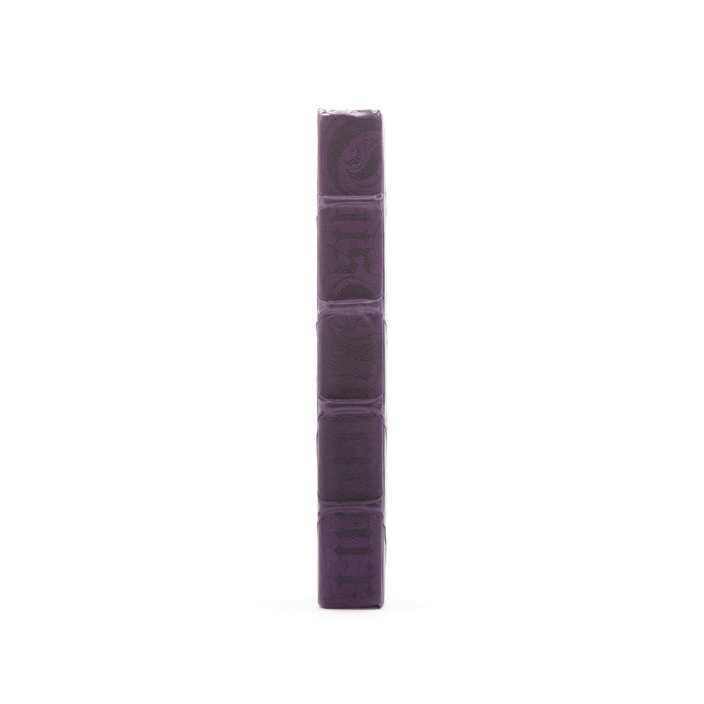 Go Home - Single Aubergine Bold Book