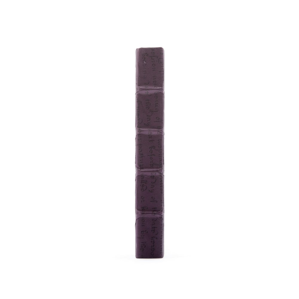 Go Home - Single Aubergine Script Book
