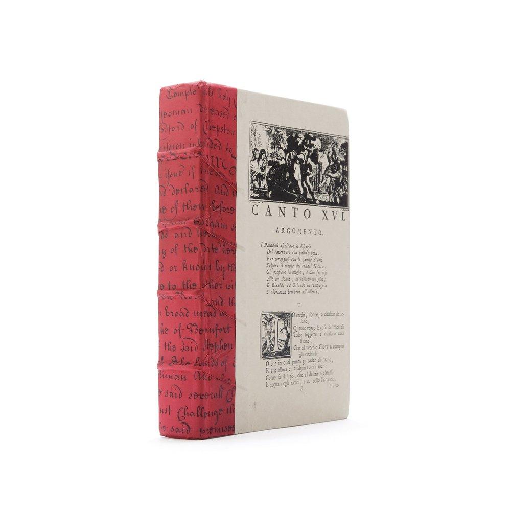 Go Home - Single Red Script Book