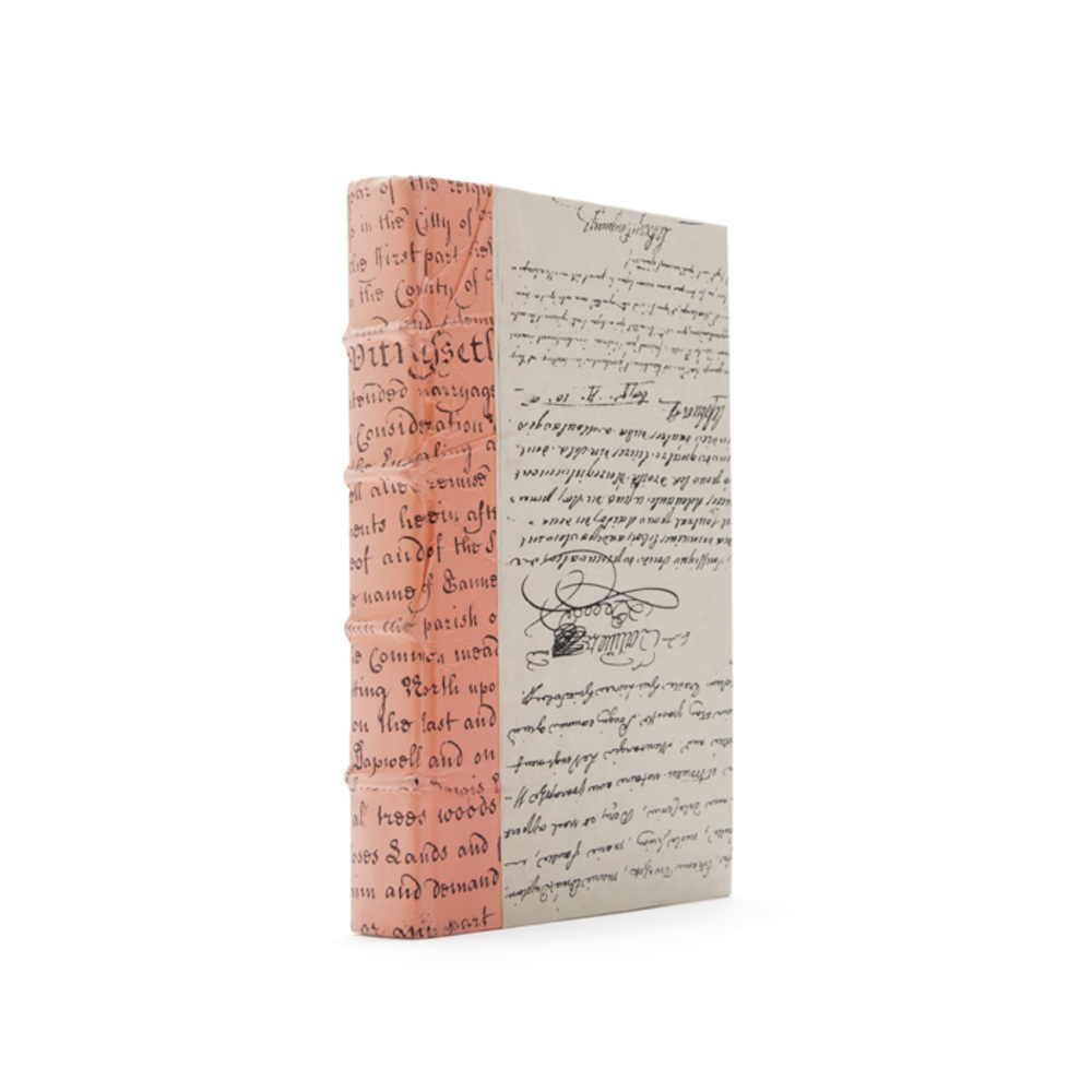 Go Home - Linear Foot of Coral Script Books