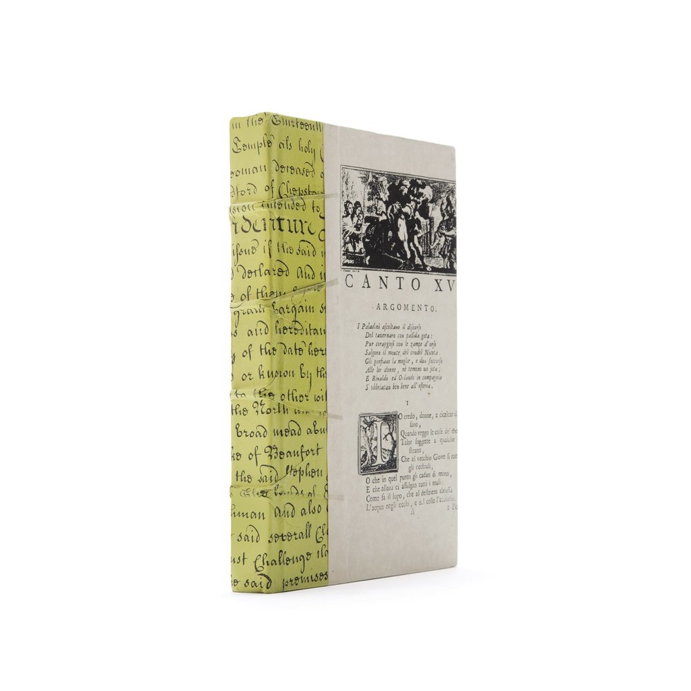 Go Home - Single Chartreuse Script Book
