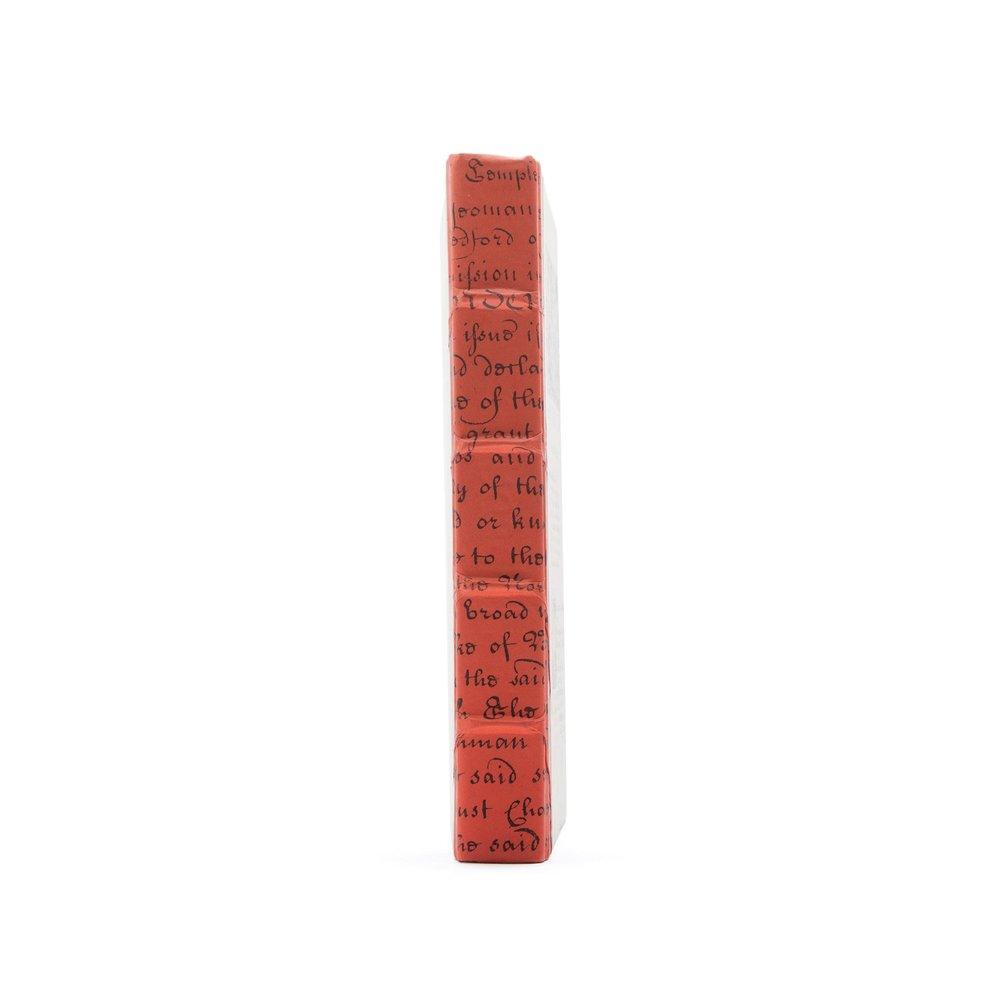 Go Home - Single Persimmon Script Book