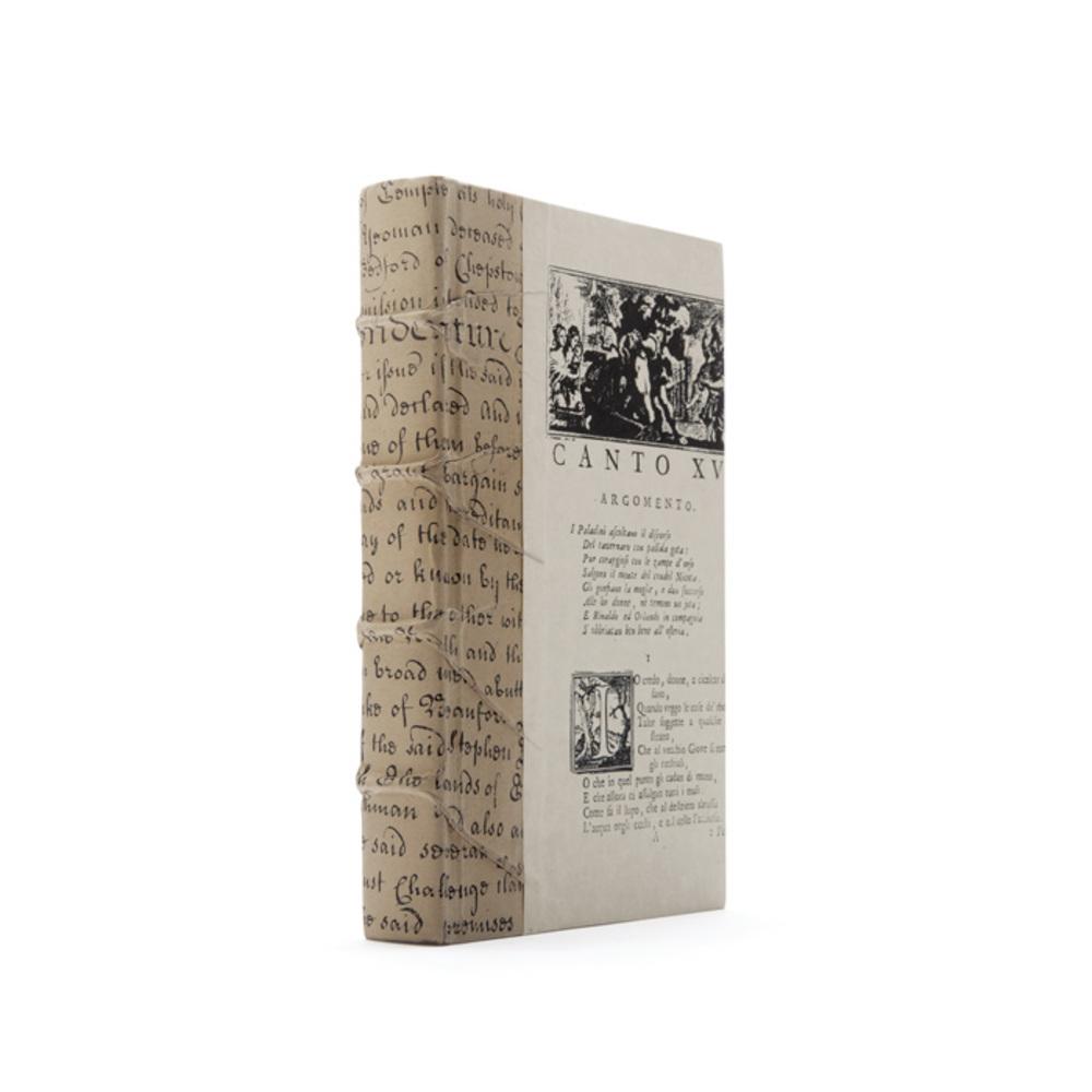 Go Home - Linear Foot of Paper Bag Script Books