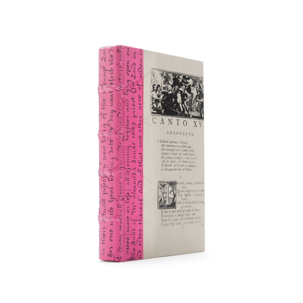 Go Home - Linear Foot of Fuchsia Script Books