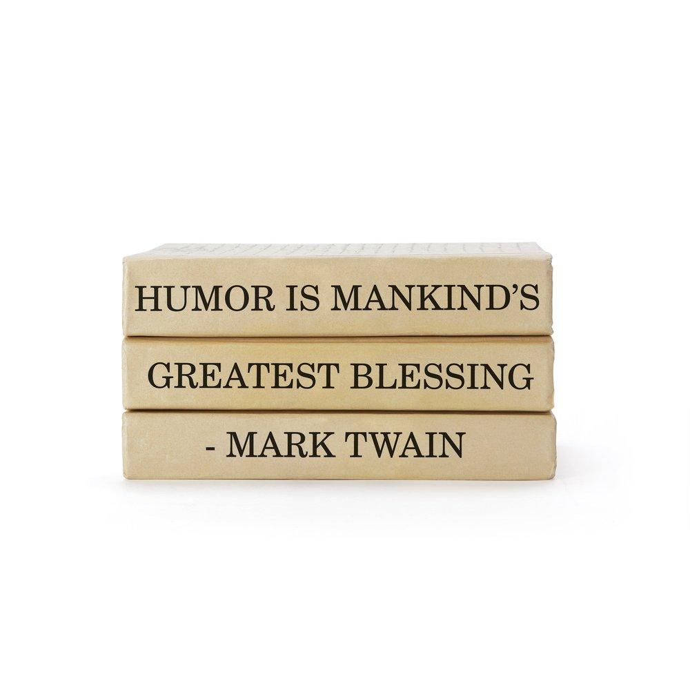 Go Home - Mark Twain Quote Books Bundle