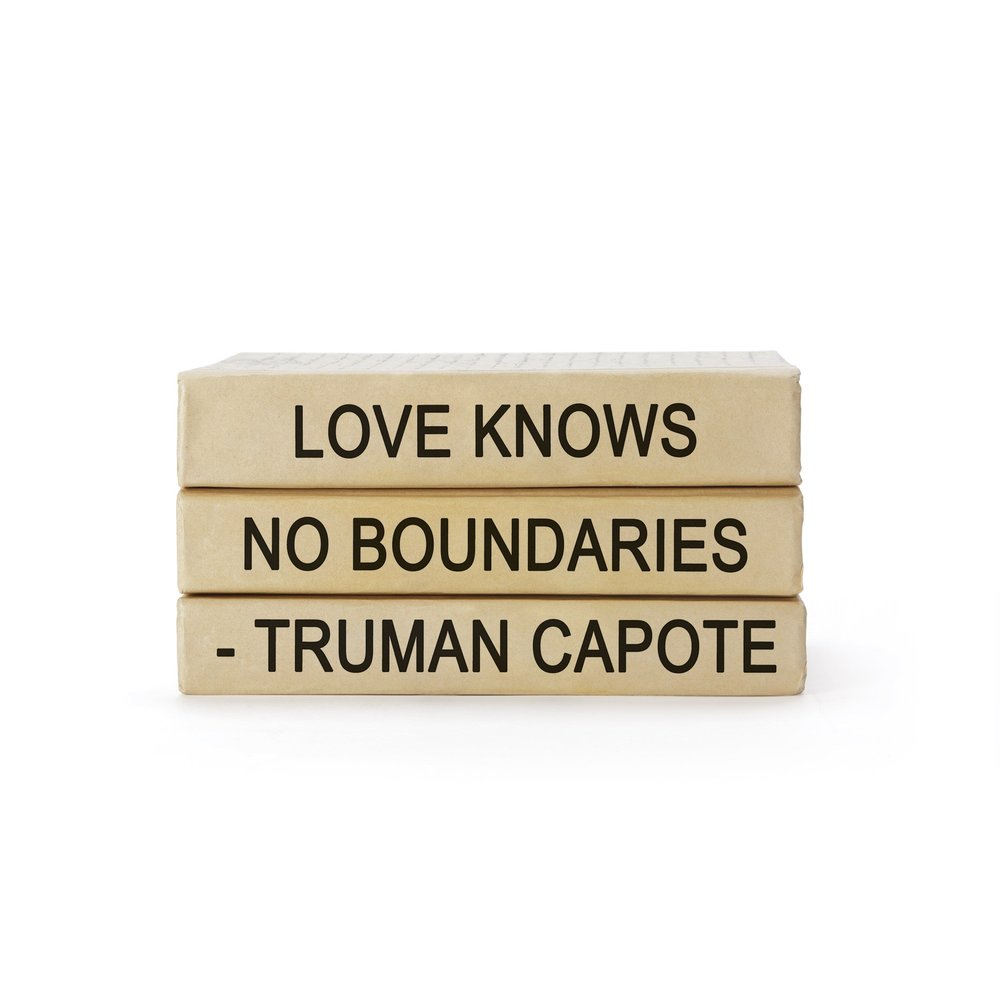 Go Home - Truman Capote Quote Books Bundle