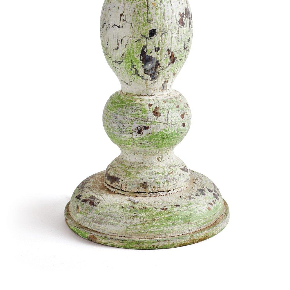 Go Home - Antiqued Candle Holder