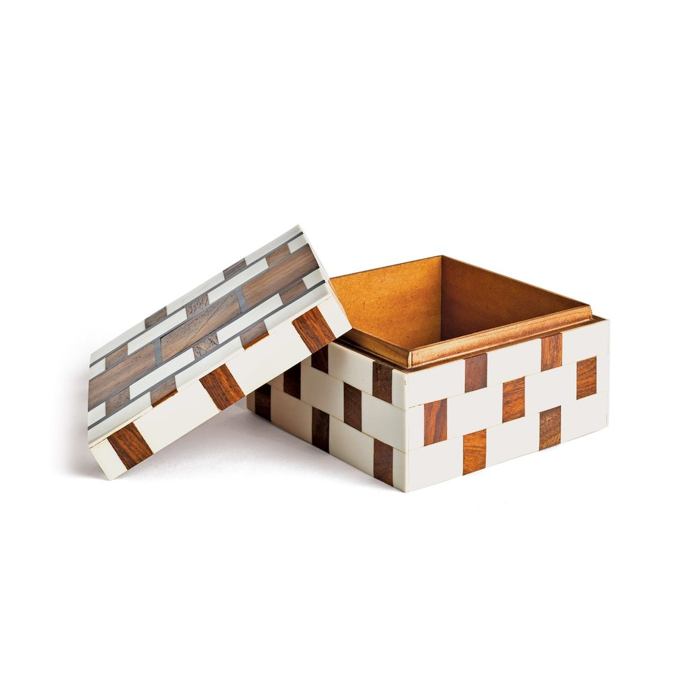 Go Home - Checkered Box