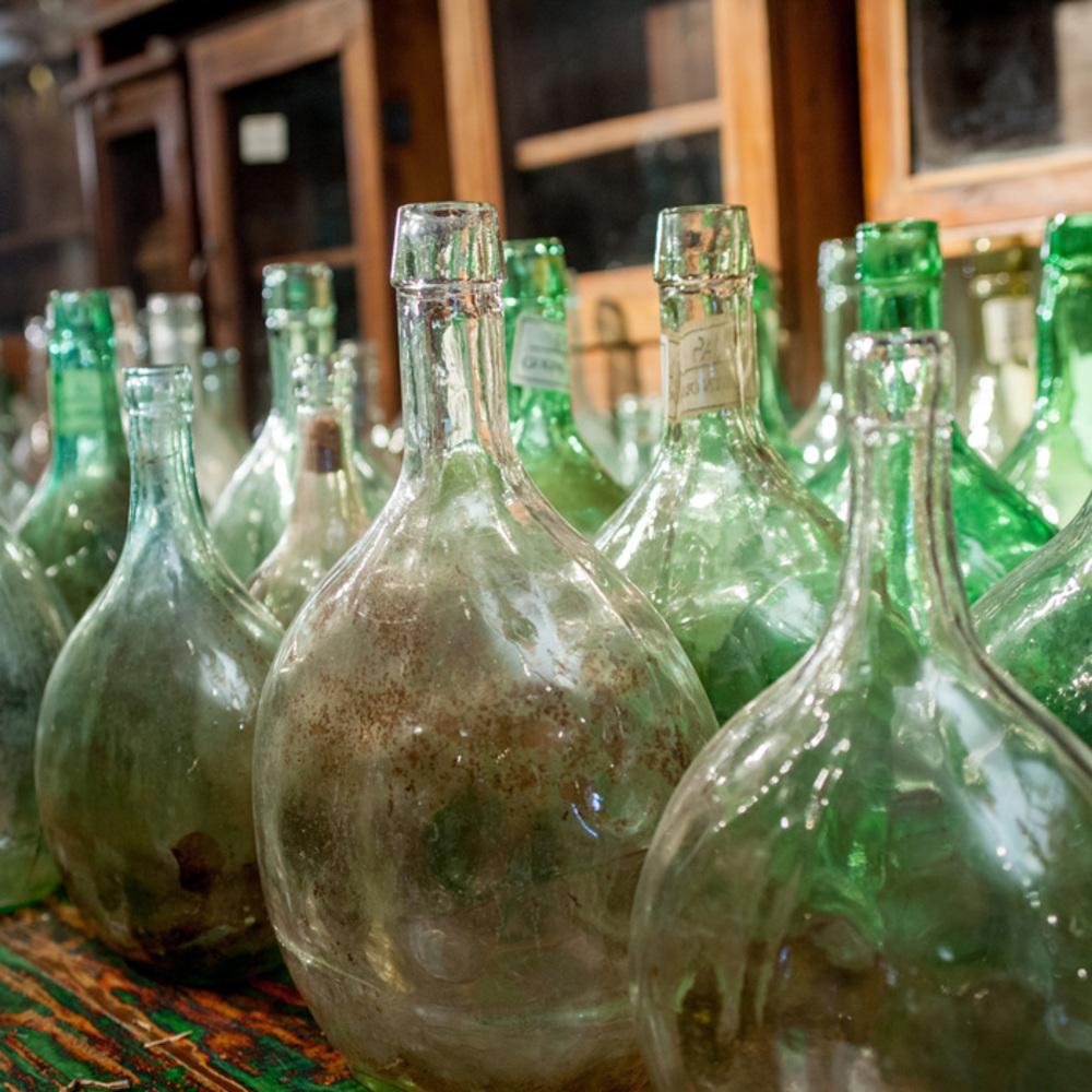 Go Home - Wine Bottle, Large