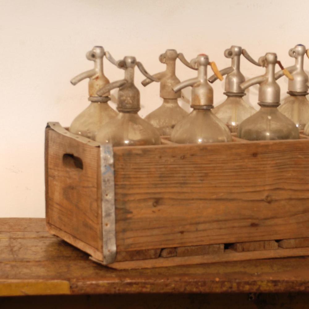 Go Home - Seltzer Bottles, Crate/10