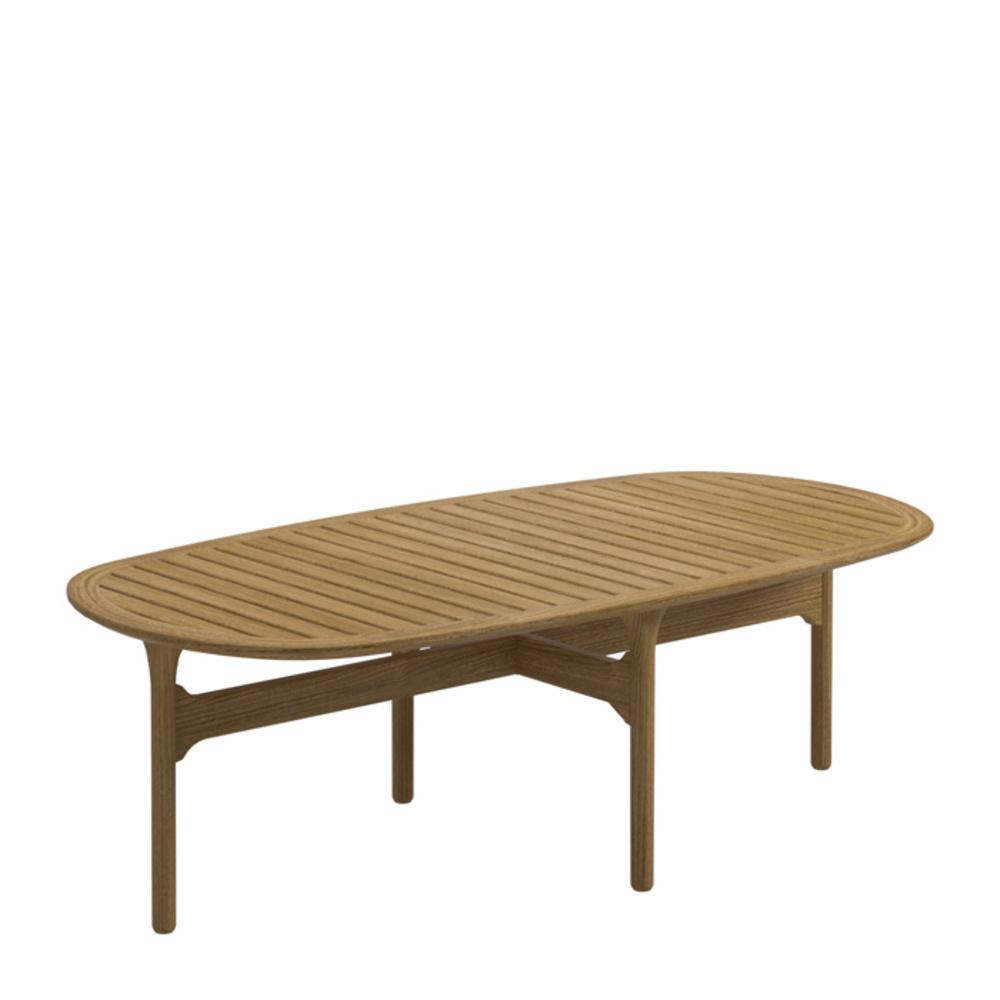 Gloster - Rectangular Coffee Table w/ Teak Top