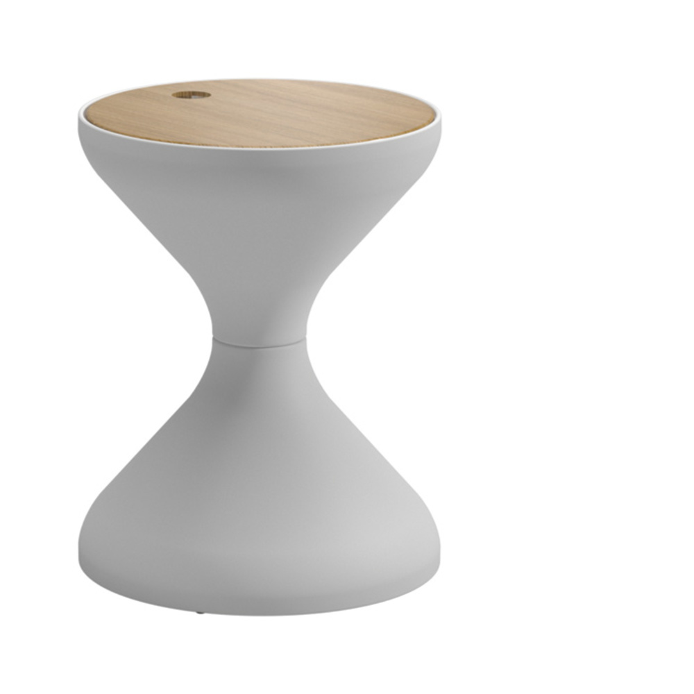 Gloster - Round Side Table w/ Ice Bucket Insert
