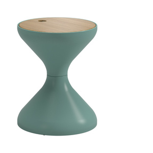 Thumbnail of Gloster - Round Side Table w/ Ice Bucket Insert