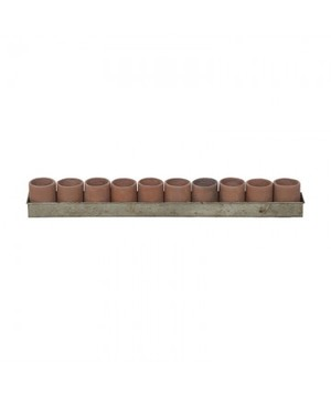 Thumbnail of Elk Group International/Combined - Terra Cotta Tea Lights In Tin