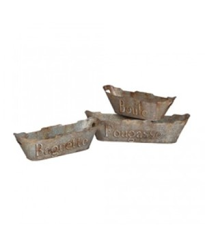 Thumbnail of Elk Group International/Combined - Tin Bread Baskets