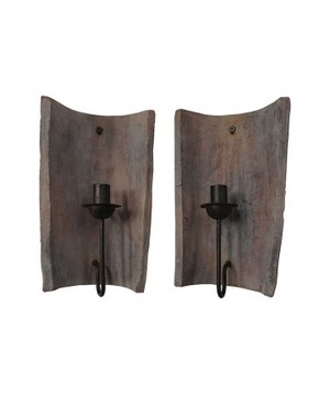 Thumbnail of Elk Group International/Combined - Terra Cotta Tile Candle Sconce