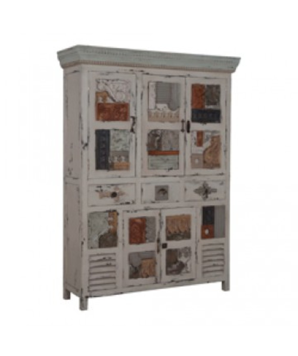 Elk Group International/Combined - Artifacts Collage Cabinet