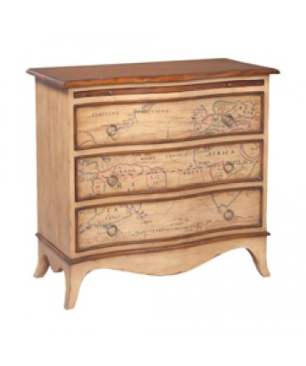 Elk Group International/Combined - Heritage Three Drawer Chest