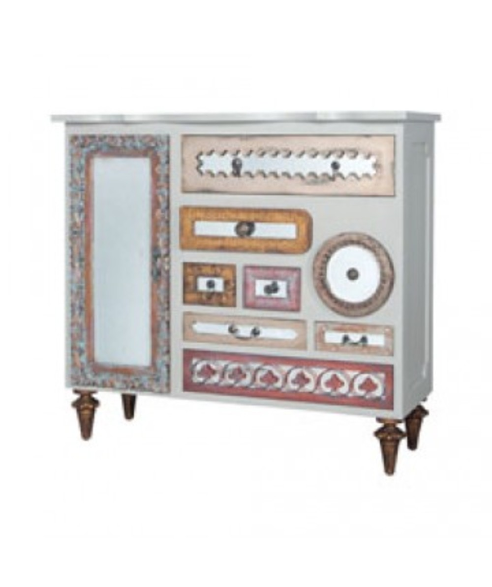 Elk Group International/Combined - Mirror Mosaic Chest