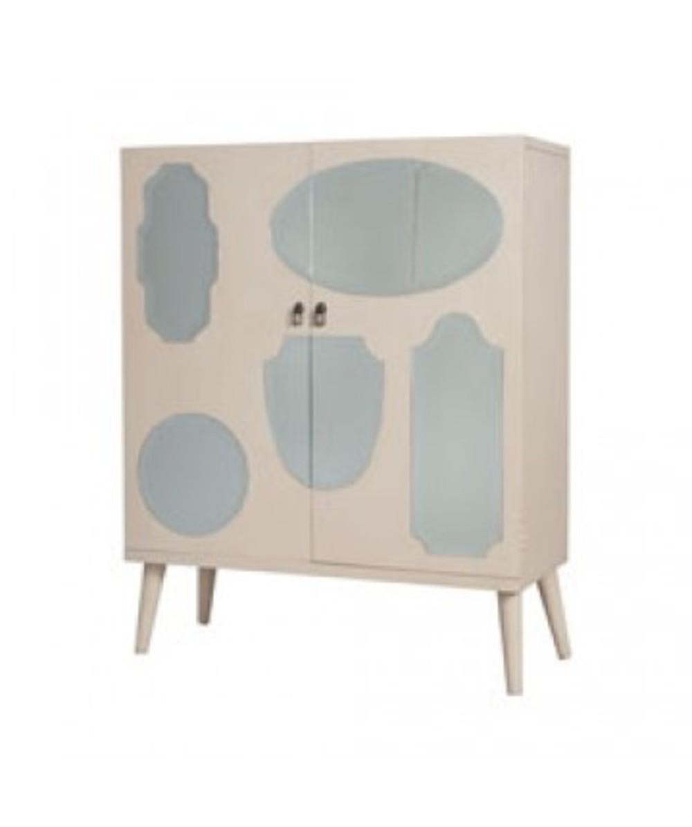 Elk Group International/Combined - Vintage Mirrored Cabinet