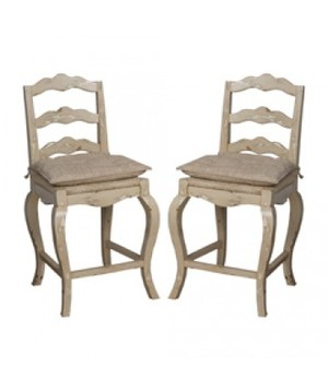 Thumbnail of Elk Group International/Combined - Pair of French Provencal Counter Stool